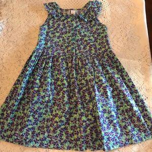Hanna Andersson cotton summer dress very nice Sz 5